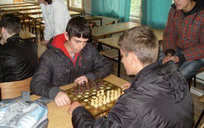 Свечено отворено шаховското првенство во Гимназијата
