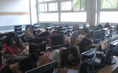 """Заедничка работилница на учениците од кавадаречката и крушевската гимназија на тема """"Грозјето, виното, животот"""""""