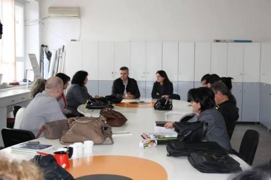 Средба на градоначалникот А. Панов со вработените