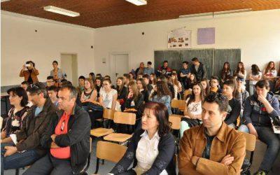 """Склучување на партнерска соработка во склоп на проектот МИО меѓу училиштата """"Нико Нестор"""" Струга и """"Добри Даскалов"""" Кавадарци"""