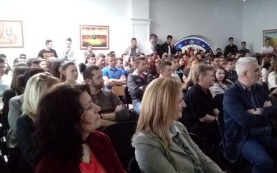 Посета на Меѓународниот Славјански Универзитет во Битола