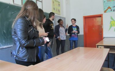 Работилница на тема СТЕРЕОТИПИ со учениците од нашето училиште кои го изучуваат францускиот јазик