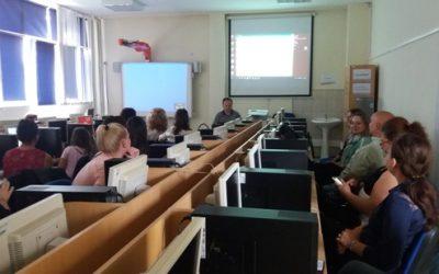 Трета работилница од проектот Интегрирање на електронското учење во училниците