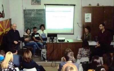 Форум театар работилница во рамките на проектот на УСАИД за мегуетничка интеграција во образованието