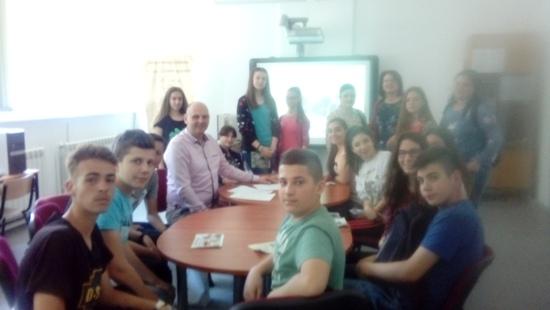 Отворен ден на гимназијата Добри Даскалов