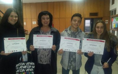 Гимназијалците со највисоки награди во месецот на науката