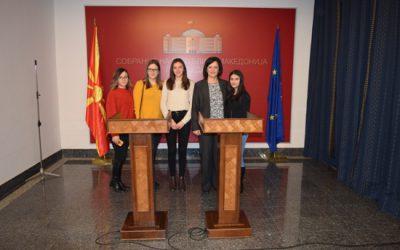 Нашите ученици во посета на Собранието на Р.Македонија