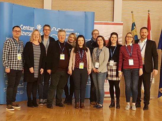 Продолжува реализацијата на Еразмус+ проектот DIGITeachEUrope во Сплит, Хрватска