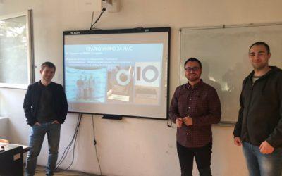 Моќта на програмирањето – предавање на час по програмски јазици од студенти на ФИНКИ