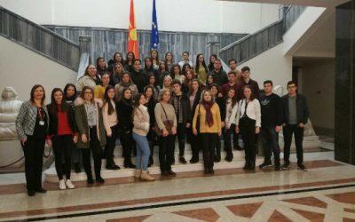 Посета на Собрание на Република Македонија