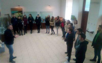Ученици од III година во посета на Музејот на град Кавадарци