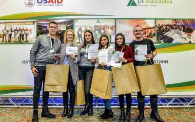 Иновативен камп-натпревар на средношколци во оргaнизација на Џуниор Ачивмент Македонија