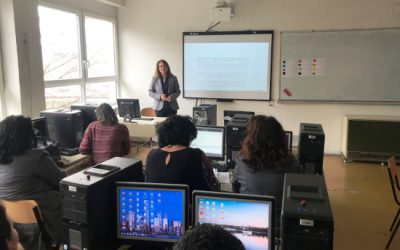 Презентација и споделување на добри практики од обуките во рамките на Еразмус+ проектите