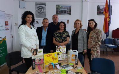 Обука за спроведување на Програмата на Џуниор Ачивмент Македонија за ученички компании