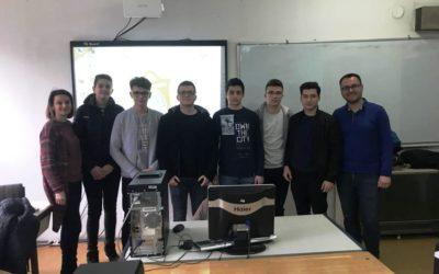 """Гимназијата """"Добри Даскалов"""" домаќин на регионалниот натпревар по информатика"""