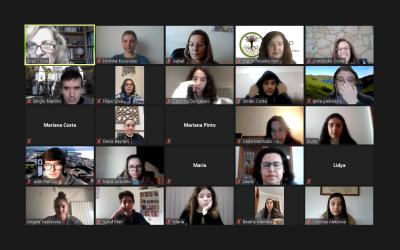 Видео-конференција во рамките на Еразмус+ проектот Heritage Education Learning Program – HELP