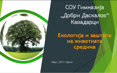 Одбележување на 21 март, Денот на пролетта и екологијата
