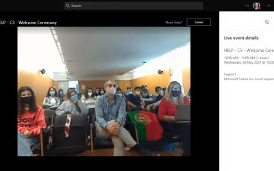 Виртуелна работилница од Еразмус+ проектот HELP